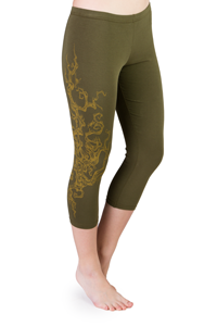 Iris Tree Leggings