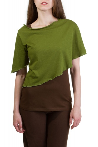 Tracy Poncho grün