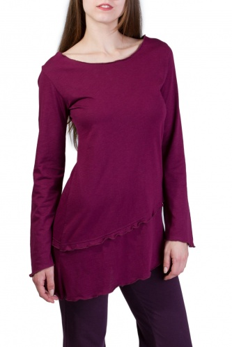 Perdita Shirt wine berry