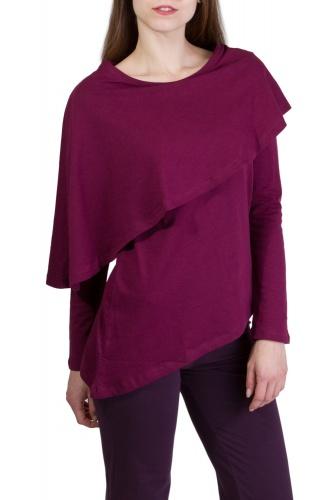 Vanda Shirt wine berry