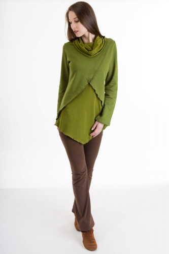 Cuco Pullover grün