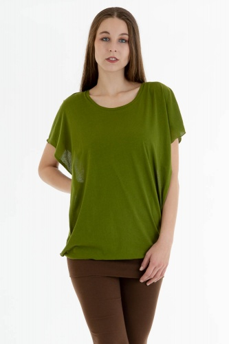 Capucha Shirt grün