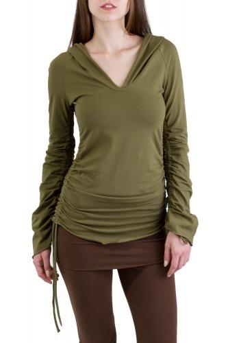 Unicorn Shirt olivegrün