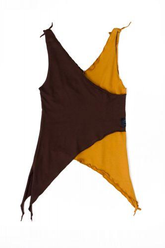 Jungle kids Dress braun-amber