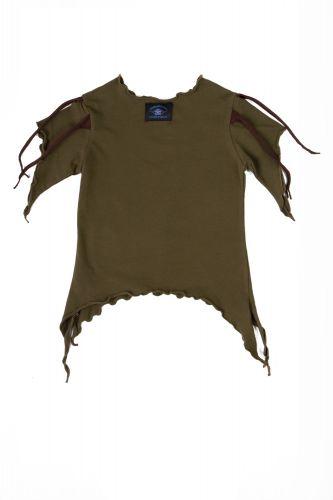 olive gr nes kinder t shirt kologisch hergestellt und. Black Bedroom Furniture Sets. Home Design Ideas