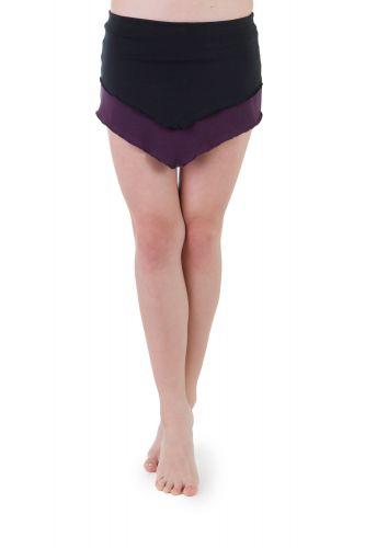 Noya schwarz-violett