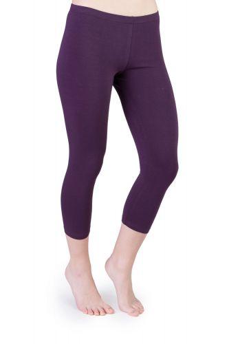 Iris Capri Leggings violett