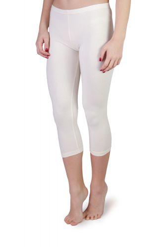 Iris Capri Leggings off white