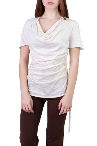 Camelia Shirt/Kleid off white