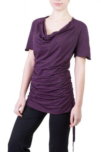 Camelia Shirt/Kleid violett