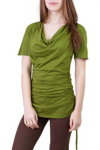 Camelia Shirt/Kleid grün