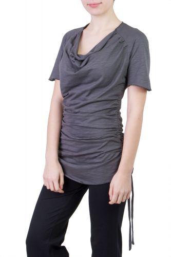 Camelia Shirt/Kleid grau
