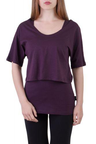 Fuchsia Shirt Set violett