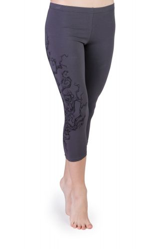 Iris Tree Capri Leggings grau