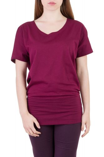 Gina T-Shirt wine berry