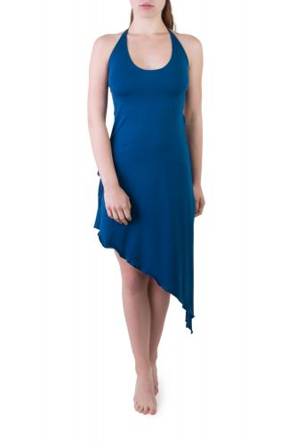 Valley Wickel Kleid blau