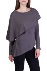 Vanda Shirt grau