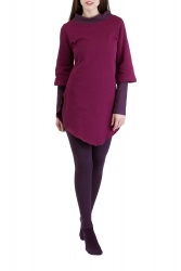 Kayley Pullover wine berry-violett