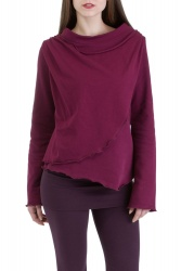 Chiso Pullover wine berry