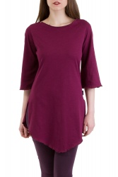 Avellana Shirt wine berry