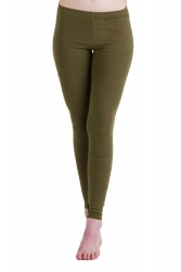 Bolsitos Leggings olive grün