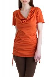 Camelia Shirt/Kleid terra