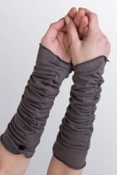 Beryl Arm-Stulpen grau