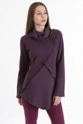 Cuco Pullover violett