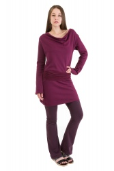 Pichi Pullover wine berry