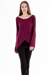 Volteo Shirt wine berry