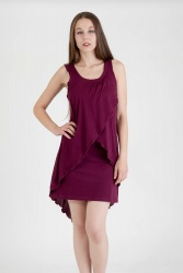 Solapo Kleid wine berry