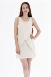 Solapo Kleid off white