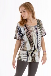 Ahava T-Shirt feather