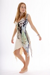Jane Zipfel Kleid feather