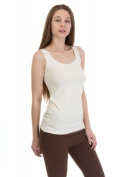 Sencilla Top off white
