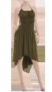 Ruga Kleid olive grün