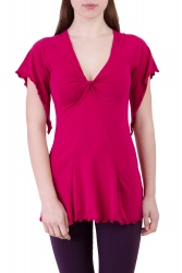Angelite T-shirt dark magenta