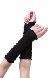 Beryl Arm-Stulpen schwarz