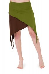 Banyan skirt green-brown