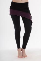 Pyrit Skirt black-violet