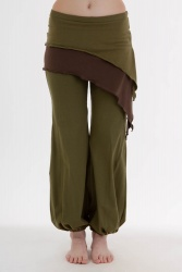 Pyrit Skirt olive green brown