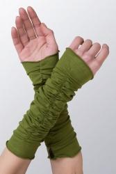 Beryl Arm-Stulpen grün