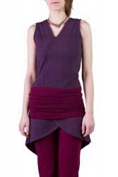 Silfo Kleid violett-wine berry