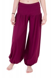 Nishta Trousers wine berry