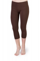 Iris Capri Leggings braun