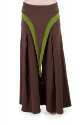 Pixie Hose braun-grün