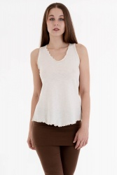 Ivy Top off white
