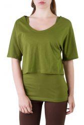 Fuchsia Shirt Set grün