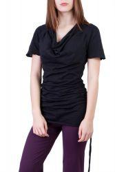 Camelia Shirt/Kleid schwarz