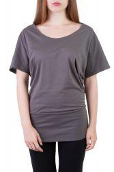 Gina T-Shirt grau